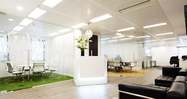 Офисные перегородки - 4 идеи создания рабочих мест