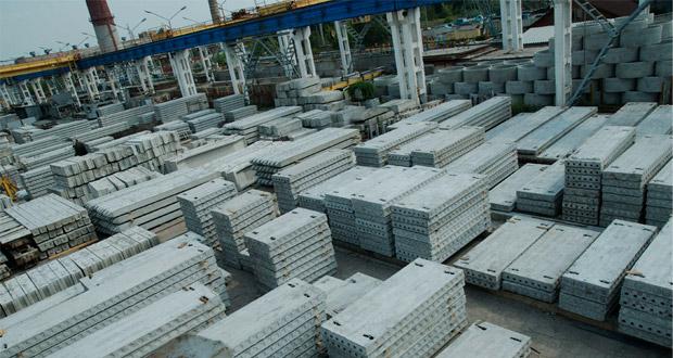 Строительство нового завода ЖБИ в Иране