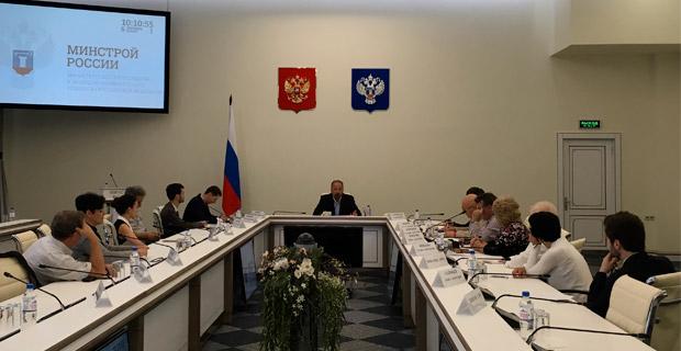 Глава Минстроя встретился с представителями отраслевых СМИ