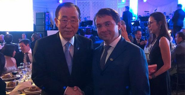 Андрей Чибис стал вице-президентом конференции UN-HABITAT